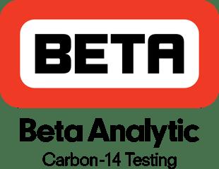 beta logo carbon-14 testing